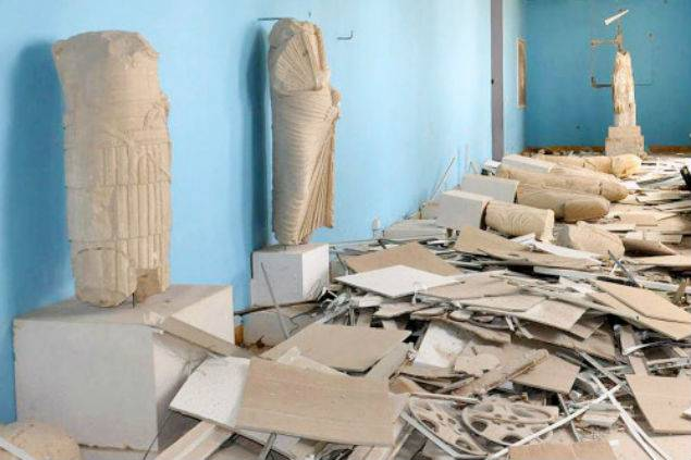 150 mines removed so far in Palmyra's ancient site