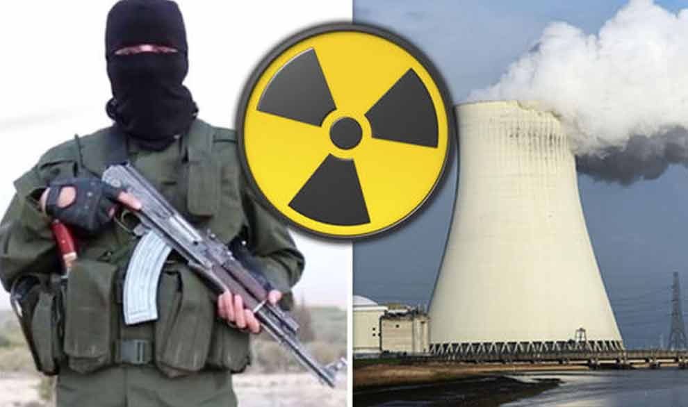 ISIS NUCLEAR terror attack as guard 'shot dead and security pass is stolen'