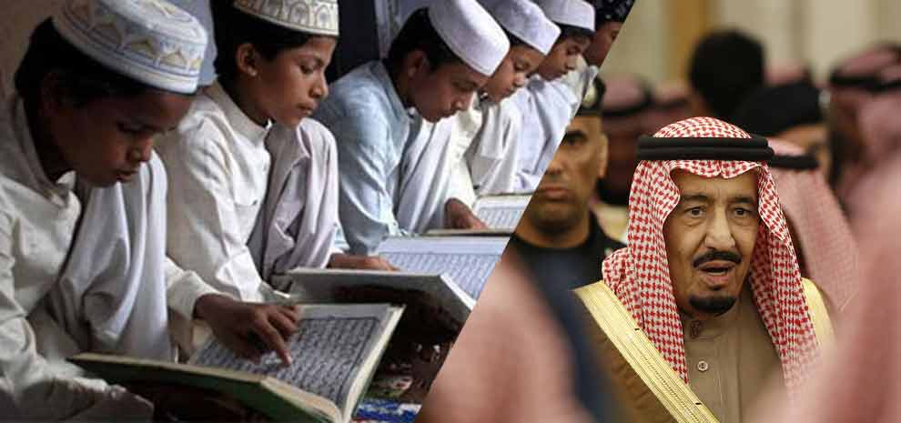 Saudi-pumping-millions-to-promote-Wahhabism-in-India