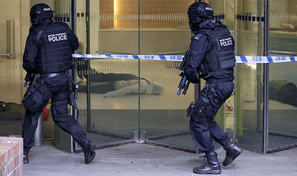 The counter-terror officers are working around the clock to prevent an attack