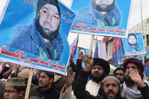 Hanged killer Mumtaz Qadri's supporters hold Islamabad's 'red zone' under siege