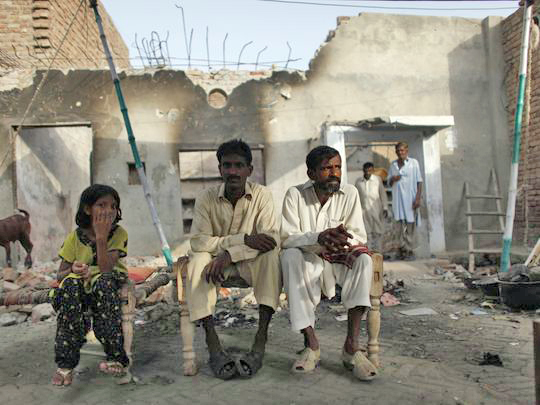 A Christian family pakistan