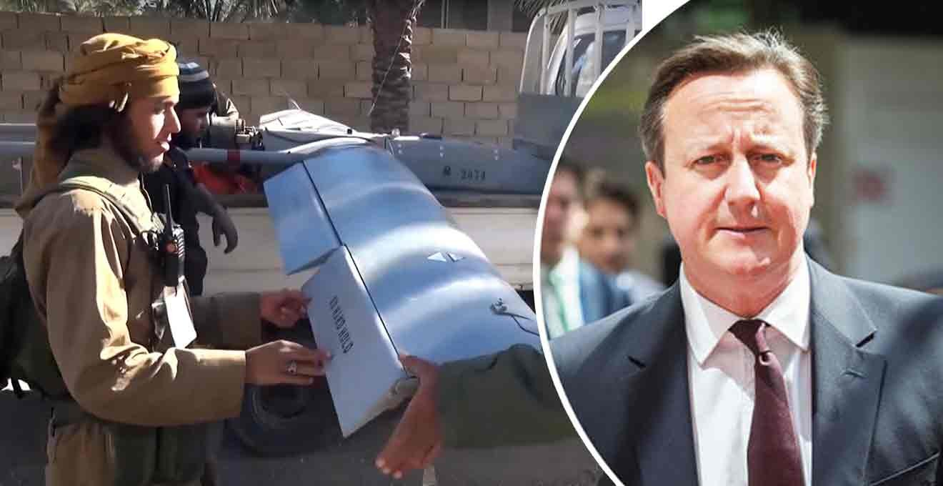 Cameron warns ISIS could use drones to spray nuclear material over Western cities