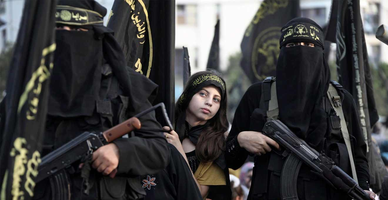 Female terrorists wanted death to meet 'handsome martyrs'