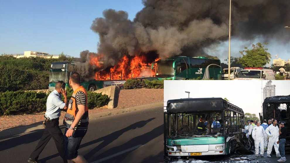 Jerusalem bus bomb wounds 16, Netanyahu hints at Palestinian link