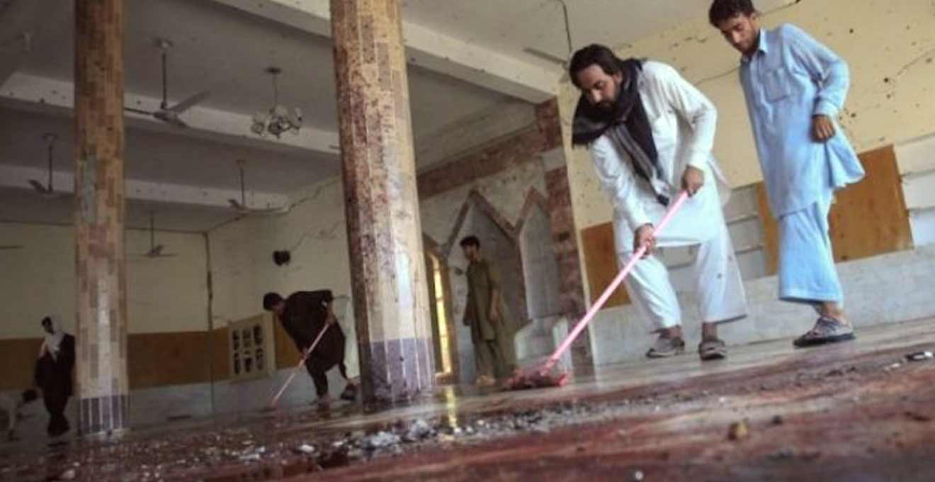 Militants blown up while making an IED inside a mosque in Ghazni