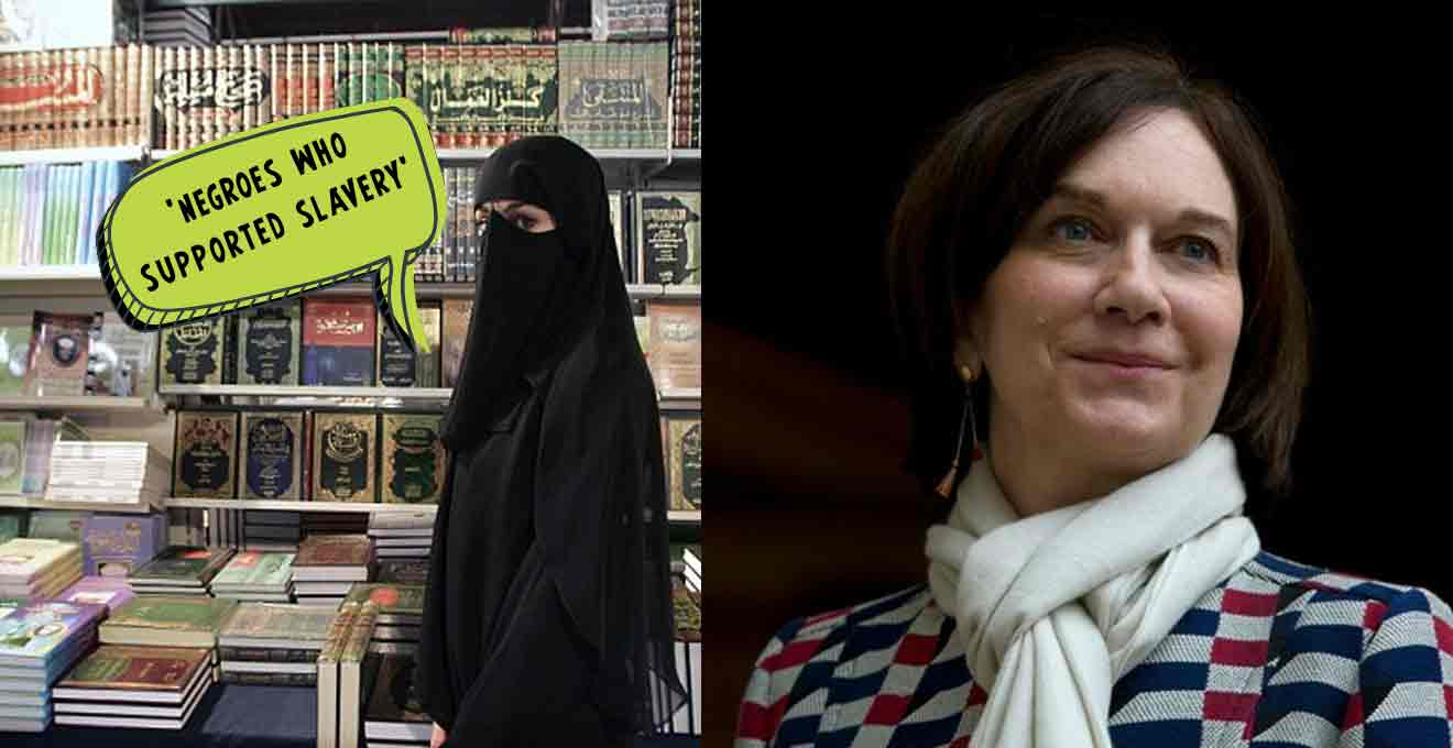 Muslim-women-who-wear-the-veil-(burqa)--to-'negroes-who-supported-slavery'-,