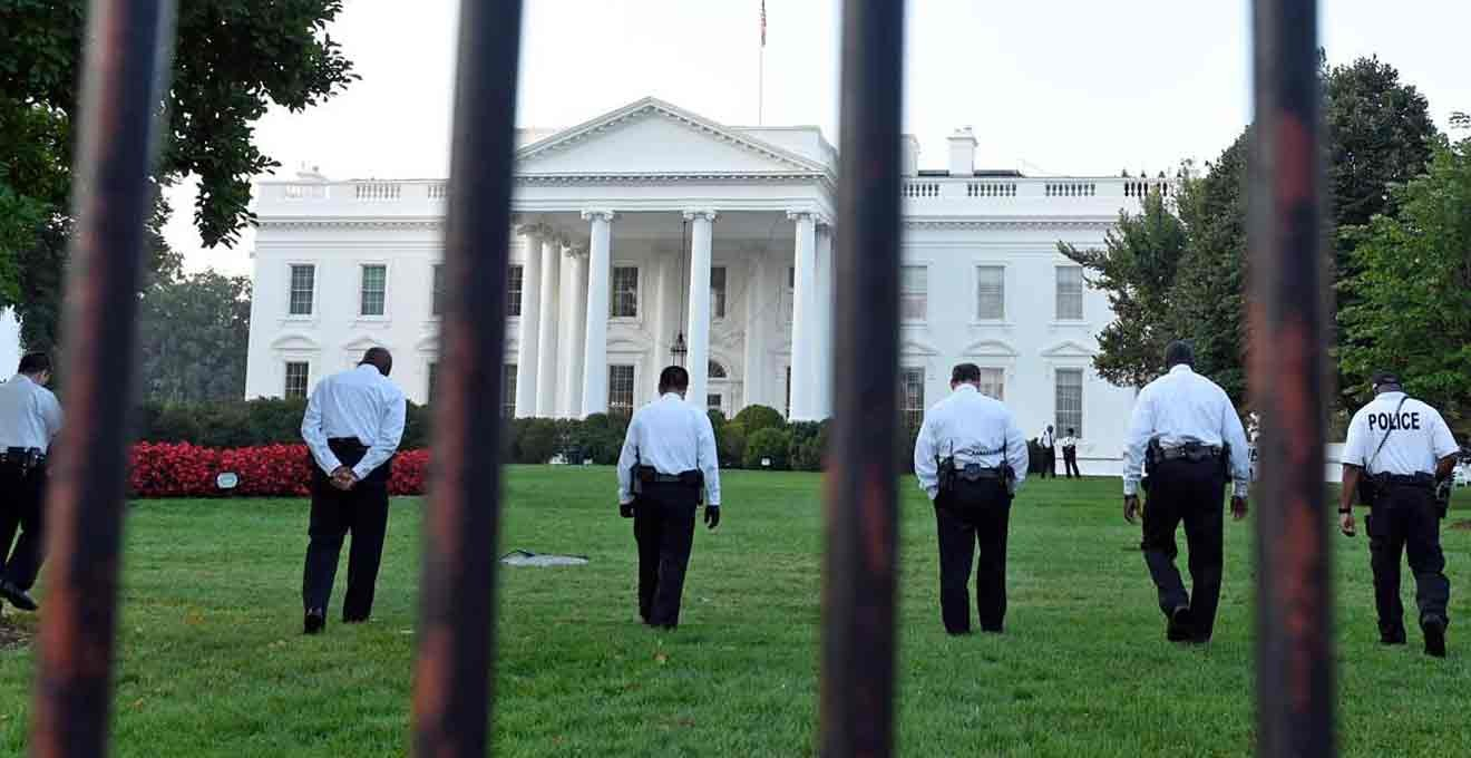 White House intruder caught after scaling fence: Secret Service