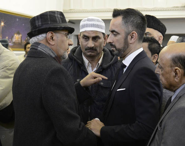 Mr Anwar chaired an event at Glasgow Central Mosque condemning violence and extremism last week
