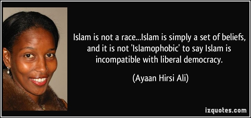 islam is not a race