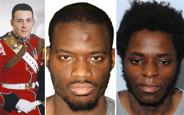 British men Michael Adebolajo and Michael Adebowale who were found guilty of the murder of British soldier Lee Rigby