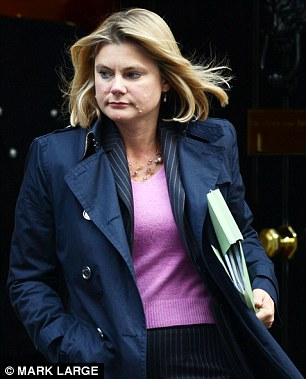 Justine Greening branded the website's advice as 'disgraceful and unacceptable'