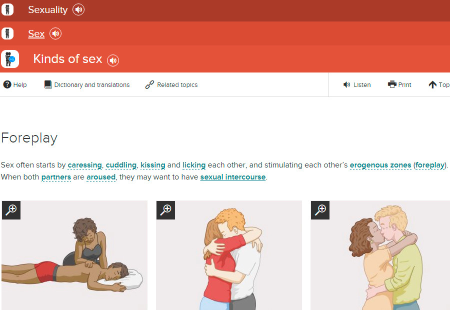 Germany launches website to teach refugees about sex