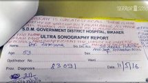 Indian Doctor writes prescription telling patients to follow Islam