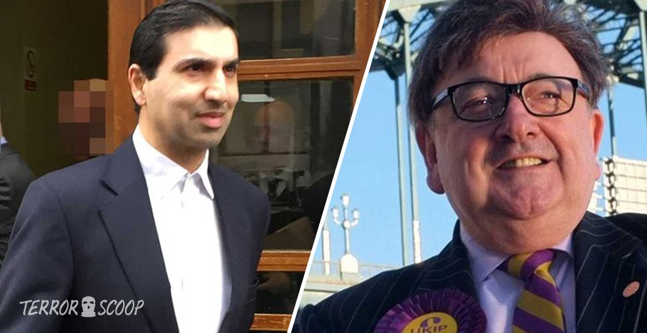 Muslim-previlage-in-UK-Aftab-Ahmed-who-threatened-to-'behead'-UKIP-candidate-walks-free