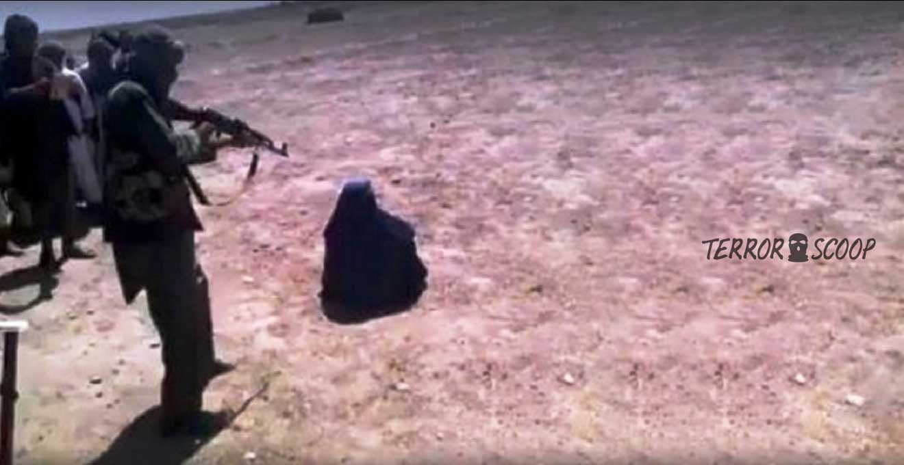 Taliban-public-execution-of-Afghan-woman