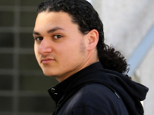 Sulayman Khalid outside Bankstown court in 2014.Source:News Corp Australia
