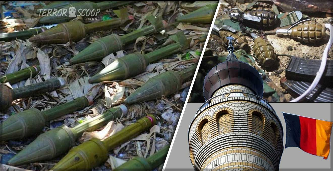 Arsenal-of-Heavy-Military-Grade-Weaponry-Discovered-Near-Mosque