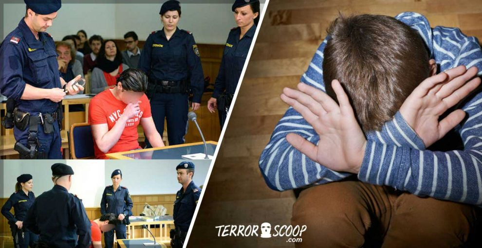 Austria-Iraqi-Muslim-Pedophile-Migrant-Who-Brutally-Raped-10-yr-old-Boy,-Because-Of-Sexual-Emergency-Jailed-For-Six-Years
