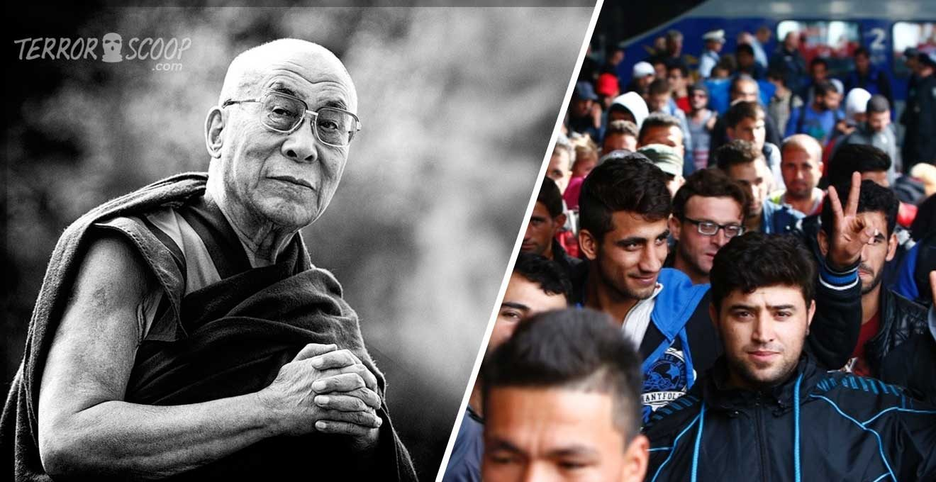 Dalai-Lama-Too-Many-Refugees,-Europe...-Cannot-Become-An-Arab-Country