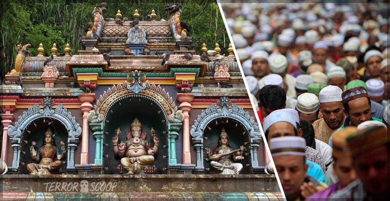 Malaysia-Two-Hindu-Temples-Vandalised-in-Hate-Crime
