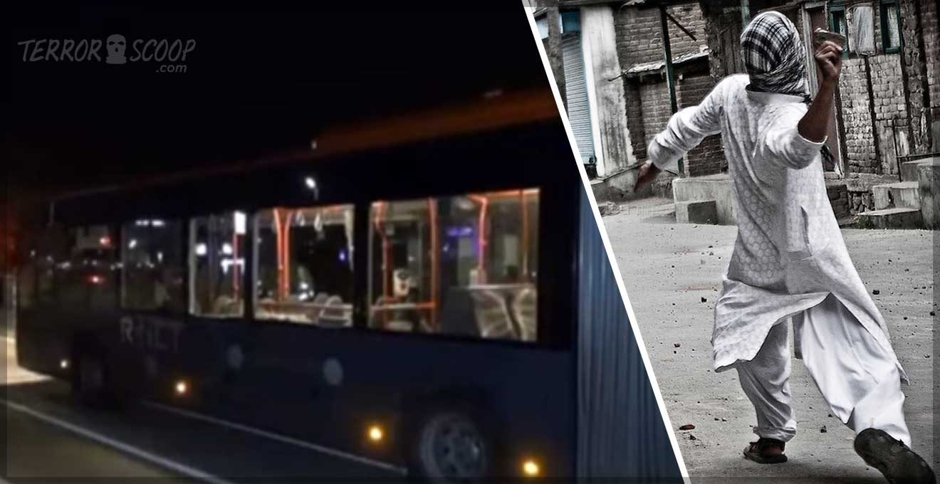 Netherlands-Muslim-youth-attacking-city-busses-with-stones