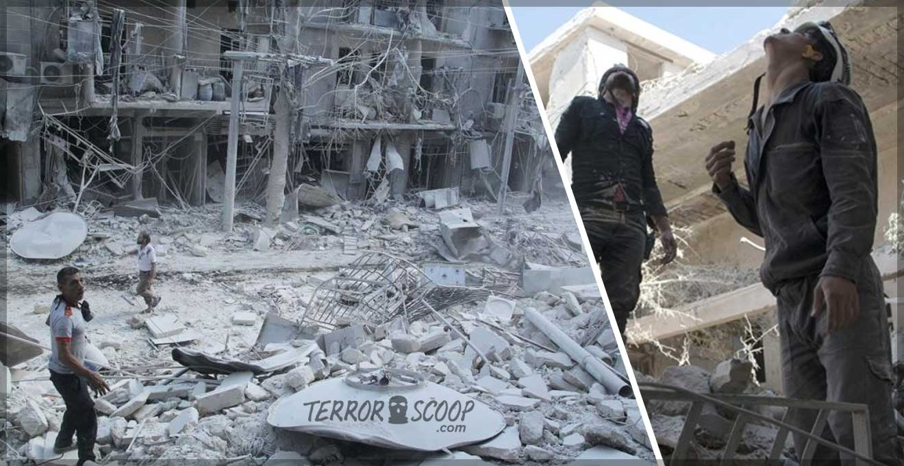 Syrian-jets-pound-Aleppo,-many-casualties-reported