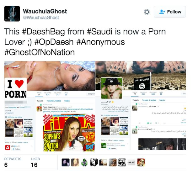 Tweets-showing-Islamic-State-twitter-accounts-hacked-and-flooded-with-porn
