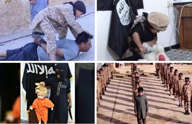 Syrian children are being taught not only by the Islamic State but by their own parents to perpetuate the same brutality prevalent in their home country — yet the left purports that they are safe and just need acceptance.