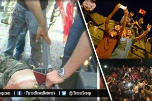 Erdogan-supporters-beheads-Turkish-soldier-on-Istanbul's-Bosphorus-Bridge-after-failed-coup-attempt
