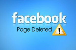 Facebook-page-deleted