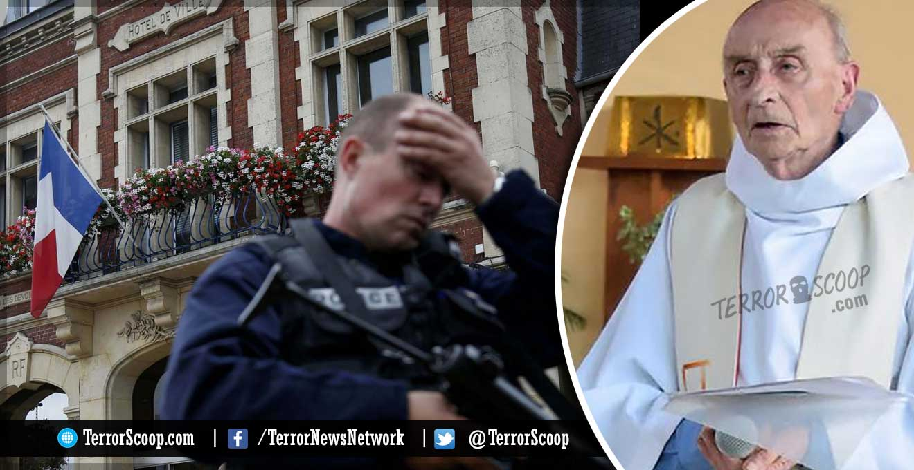 France-ISIS-Terrorists-attack-church-and-kill-86-year-old-priest-Father-Jacques-Hamel-after-hostage-situation,-attackers-dead