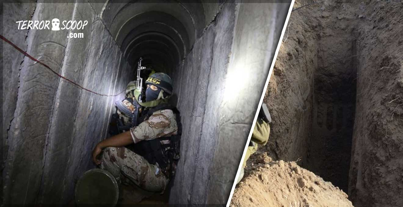 Gaza-Jihadi-tunnel-collapse-kill-islamic-terrorists