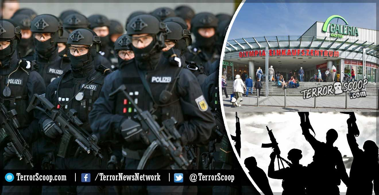 Germany-Shooting-at-Munich-shopping-mall,-multiple-casualties-reported