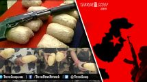 Indian-BSF-catch-21-Kg-heroin-worth-millions,-Pakistan-made-ammo-and-guns-from-Pakistani-nationals-along-Amritsar-border