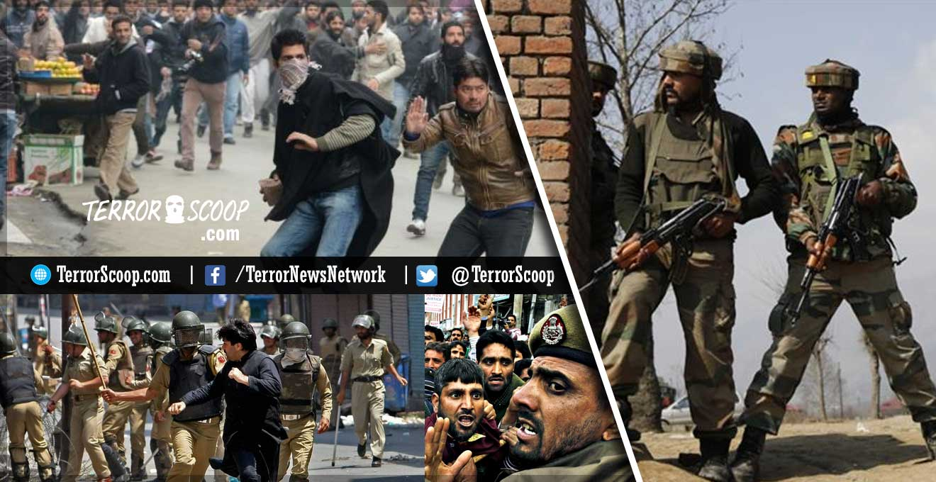Kashmir-Protest-of-no-protest,-armed-forces-to-go-full-steam-against-terrorism-says-Indian-Government