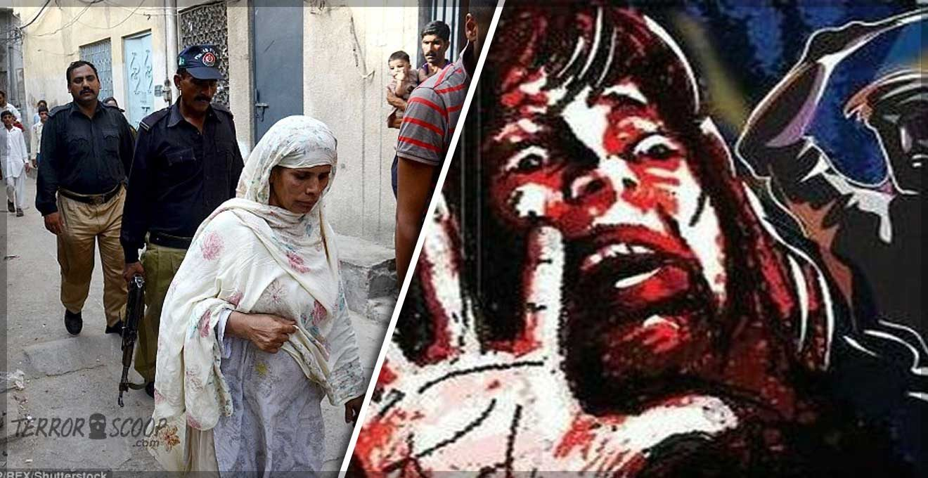 Pakistan-Honour-Killing-Mother-pregnant-with-her-second-child-has-her-throat-slit-by-her-family-because-they-disapproved-of-her-husband