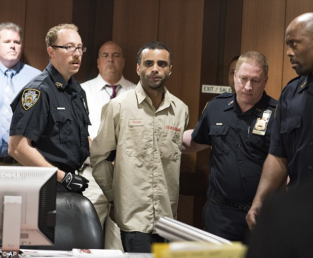 Morel was wearing the same khaki porter's uniform he had on when he was arrested in connection with the killing on Sunday night