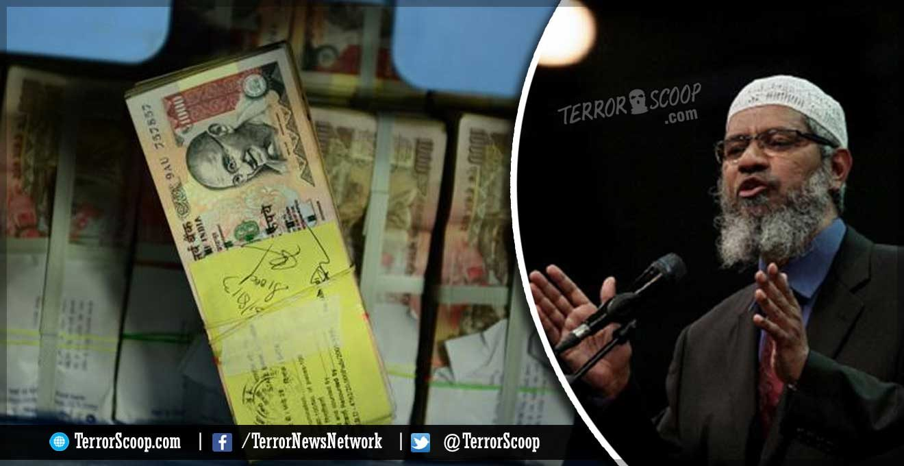 India-Muslim-Hate-Preacher-Zakir-Naik-and-Family-Recieved-Rs-60-crore-USD-$96,000-in-three-years-from-three-countries-Police