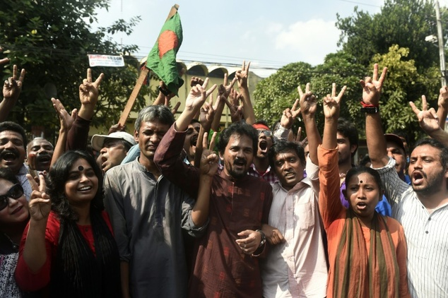Bangladeshi prime minister Sheikh Hasina defended the sentence claiming Ali's execution will help 'heal the wounds' of the conflict which has seen more than three million people killed
