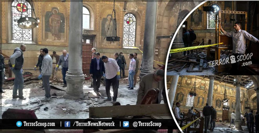 Muslims-bomb-St.-Mark's-Coptic-Orthodox-Cathedral-in-Cairo,-Kills-At-Least-25-People