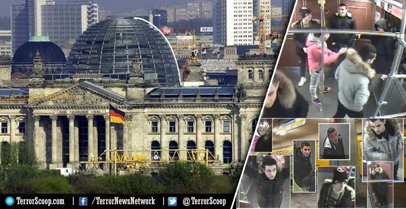Seven-Syrian-Muslim-migrants-arrested-after-a-sleeping-homeless-man-was-set-on-fire-on-Christmas-Eve-at-a-Berlin-subway-station