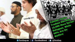 Canada-Justin-Trudeau-Decrees-10,000-More-Syrian-Refugees,-While-90%-Are-On-Welfare