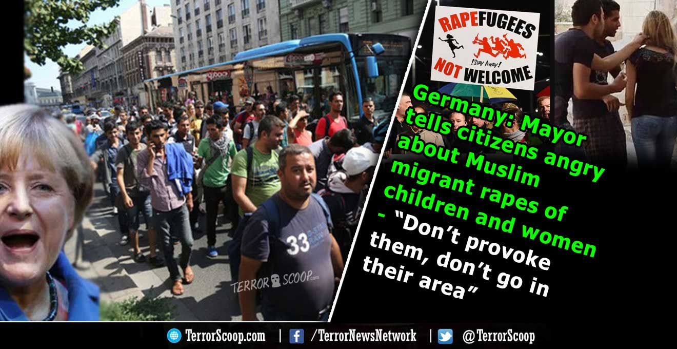 """Germany-Mayor-tells-citizens-angry-about-Muslim-migrant-rapes-of-children-and-women---""""Don't-provoke-them"""""""