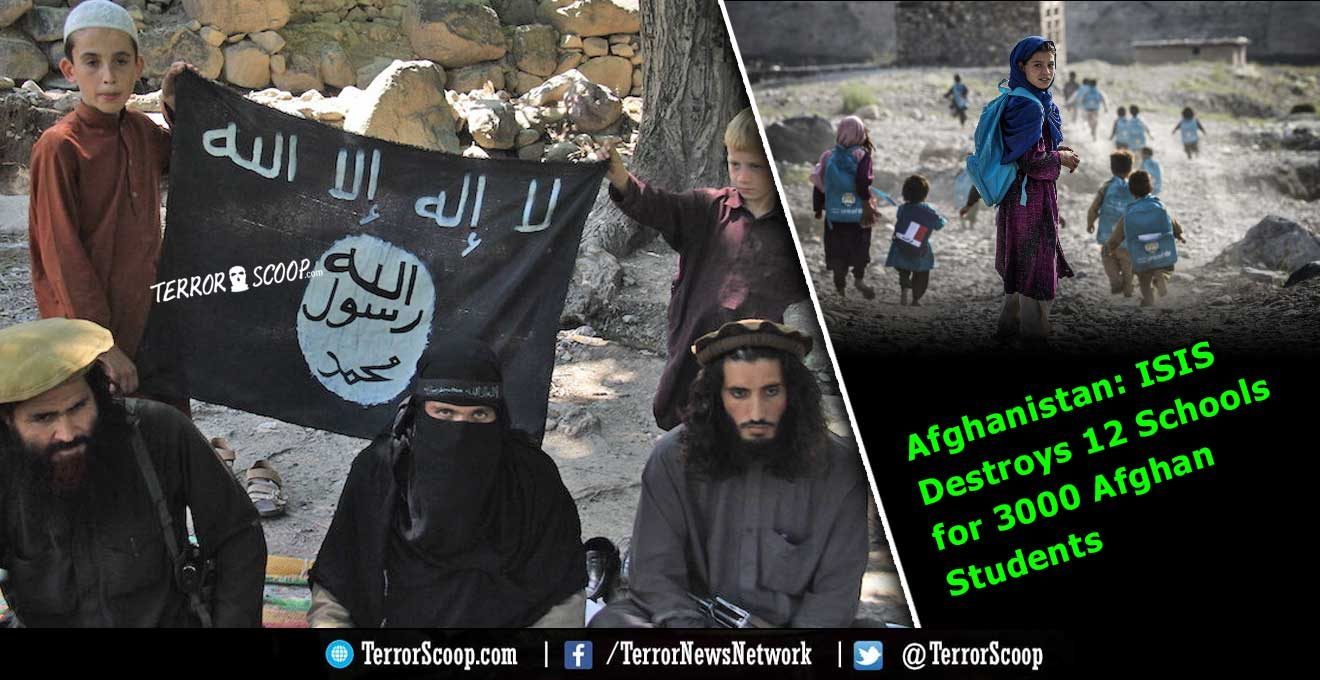 ISIS-Destroys-12-Schools-for-3000-Afghan-Students