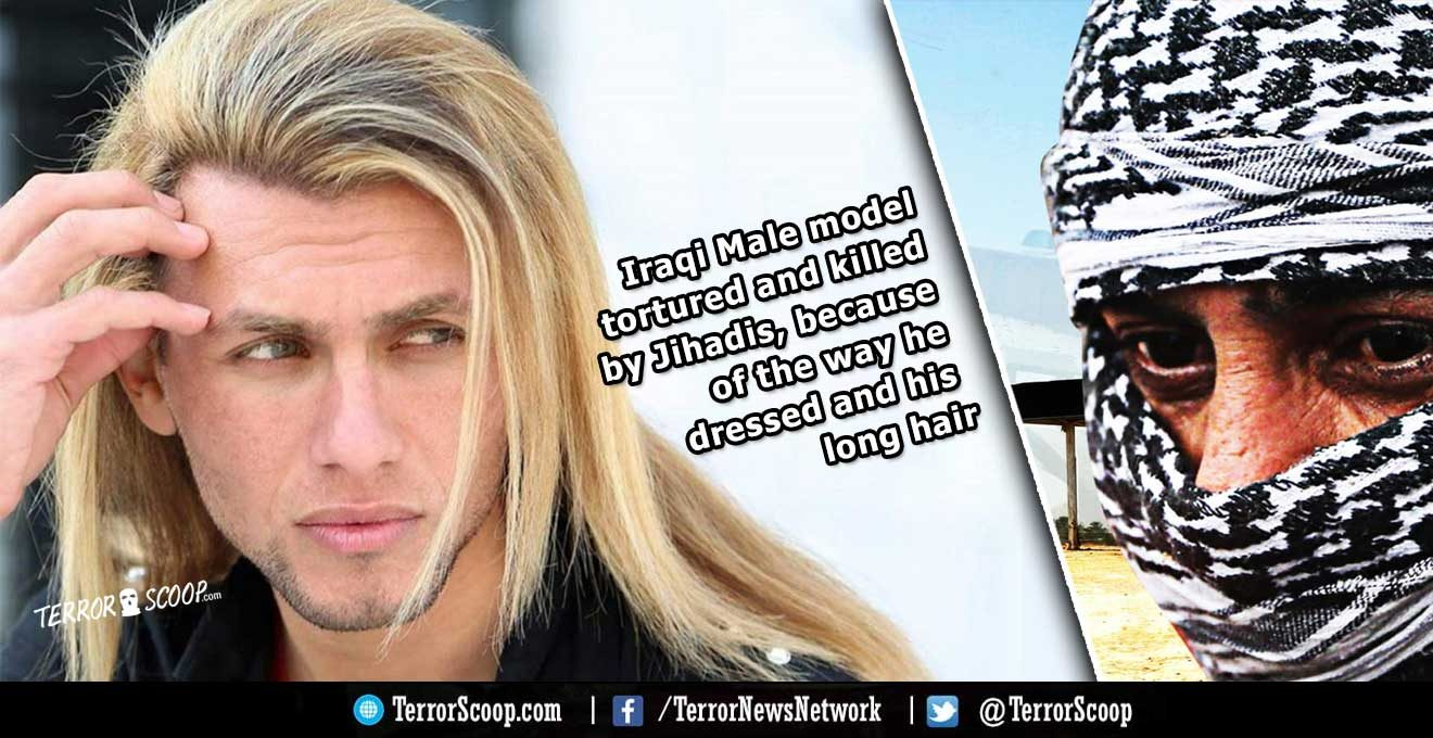 Iraq-Male-model-tortured-and-killed-by-Jihadis,-because-of-the-way-he-dressed-and-his-long-hair