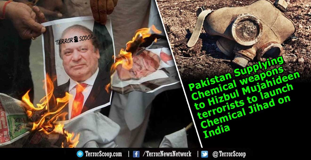 Pakistan-Supplying-Chemical-weapons-to-Hizbul-Mujahideen-to-launch-Chemical-Jihad-on-India