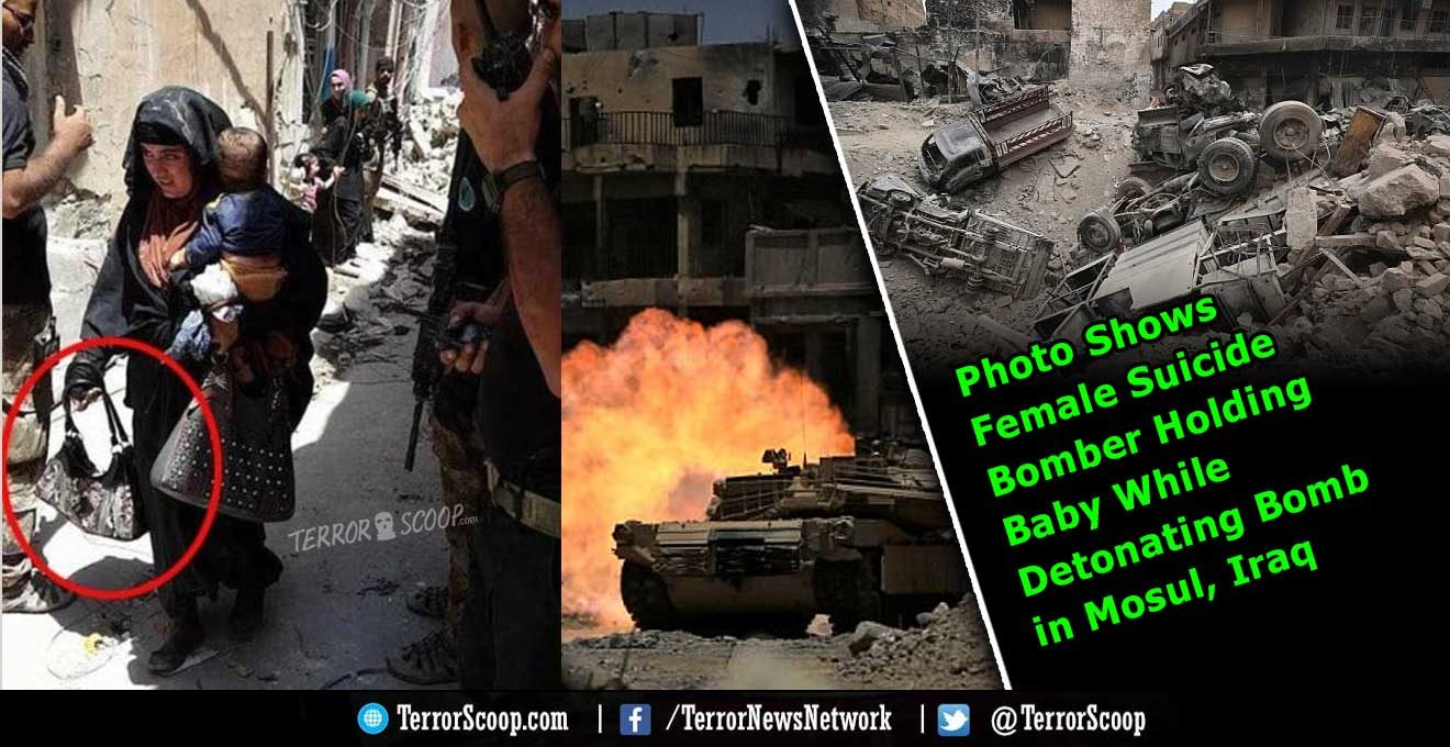 Photo-Shows-Female-Suicide-Bomber-Holding-Baby-While-Detonating-Bomb-in-Mosul,-Iraq