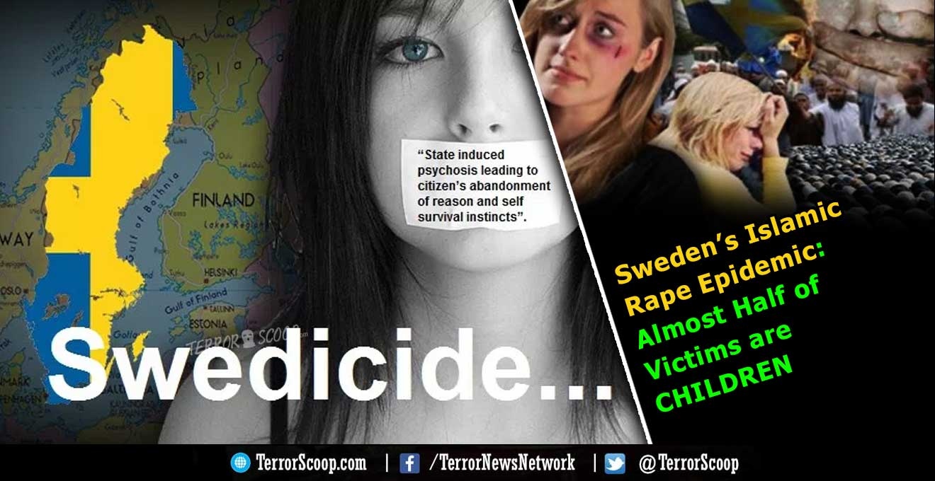Sweden's-Islamic-Rape-Epidemic-Almost-Half-of-Victims-are-CHILDREN