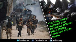 The-Iraqi-Army-captured-over-25--female-Islamic-State-(ISIS)-terrorists-inside-Mosul